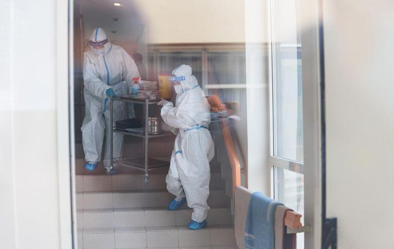 27.12.2020.Zadar- U dom za stare i nemocne u Zadru Sfinga stigle prve doze cjepiva protiv COVID 19 virusa. Photo: Marko Dimic/PIXSELL