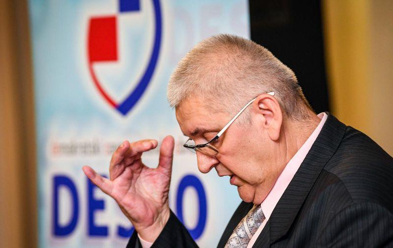 28.09.2019. Zagreb - Predstavljanje kandidature za predsjednika Republike Hrvatske Ante Djapica  Photo: Josip Regovic/PIXSELL