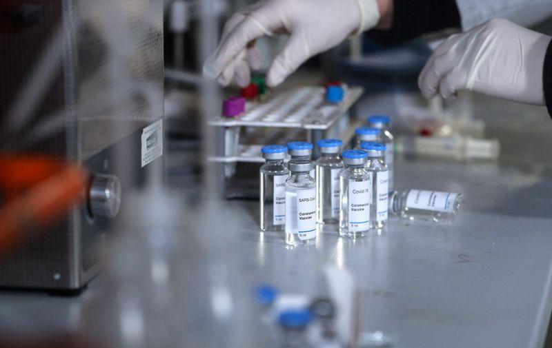 12.11.2020., Zagreb - Ilustracija -  istrazivanje cjepiva za covid-19. Americka farmaceutska tvrtka Pfizer objaviila je u ponedjeljak da je njihovo cjepivo za koronavirus izuzetno efektivno, tocnije efektivnije od 90%. Pfizer cjepivo razvija u suradnji s njemackom tvrtkom BioNTech. Na temelju najava, dvije tvrtke bi do kraja godine mogle isporuciti do 50 milijuna doza cjepiva u svijetu te do 1,3 milijarde doza u 2021. Photo: Zeljko Lukunic/PIXSELL