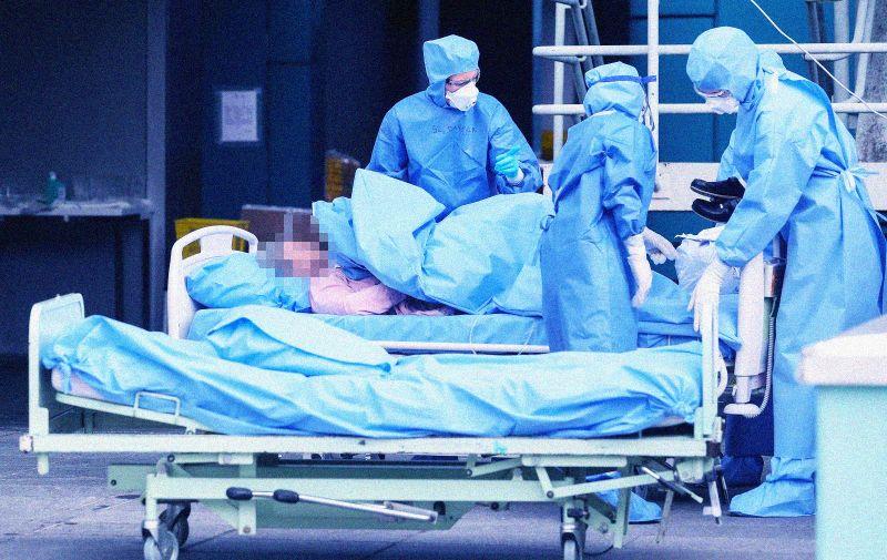 23.10.2020., Zagreb - Klinicka bolnica Dubrava zatvorila je svoju hitnu sluzbu te je postala smjestaj za bolesnike COVID-19.  Photo: Luka Stanzl/PIXSELL