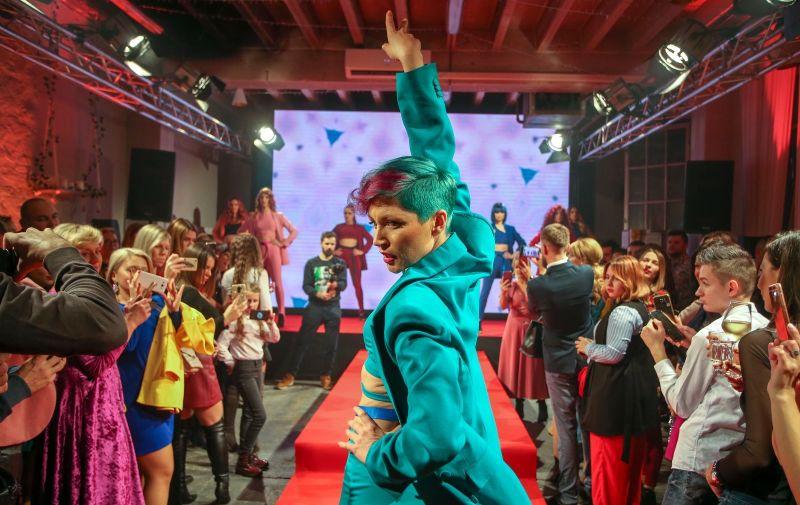 05.12.2019., Zagreb - Keune Color Chameleon Xmas Party u studiju Katran. Photo: Matija Habljak/PIXSELL