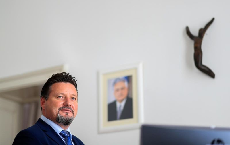 20.09.2018., Zagreb - Ministar Uprave Lovro Kuscevic. Photo: Slavko Midzor/PIXSELL