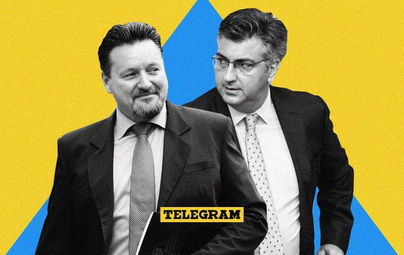 15.05.2018., Zagreb - Ministri odlaze iz Banskih dvora nakon sastanka uzeg kabineta Vlade. Lovro Kuscevic Photo: Patrik Macek/PIXSELL