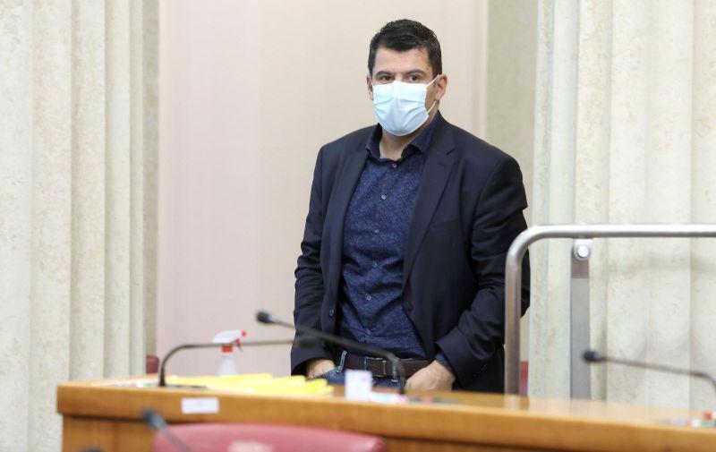 01.07.2021., Zagreb - Sabor je 7. sjednicu nastavio raspravom o Izvjescu o izmjenama i dopunama Kaznenog zakona.  Photo: Patrik Macek/PIXSELL