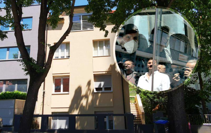 17.06.2021. Zagreb - Policija i Uskok upali u GSKG: Uhicene cetiri osobe, medju njima i voditelj. Dovodjenje osumnjicenihPhoto: Patrik Macek/PIXSELL