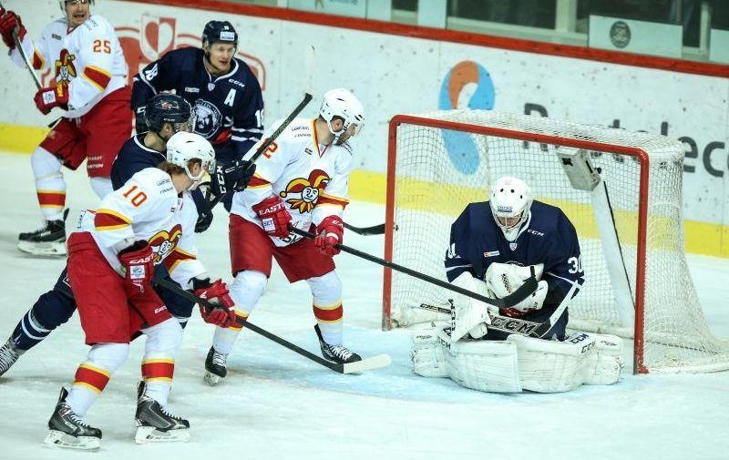 04.01.2016.,  Zagreb - 48. kolo KHL lige: KHL Medvescak - Jokerit Helsinki. Danny Taylor Photo: