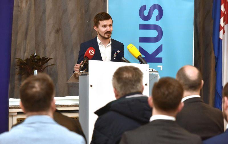 07.03.2020., Zagreb - Konferencija za medije povodom osnivanja nove stranke centra Fokus. Photo: Davorin Visnjic/PIXSELL