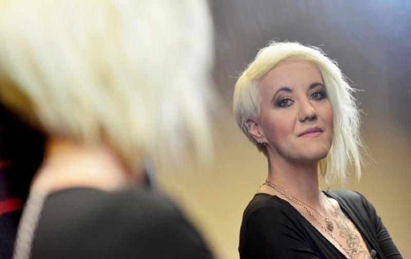 25.02.2016., Zagreb - Nina Kraljic, pjevacica i pobjednica The Voicea predstavljat ce Hrvatsku na Eurosongu.  Photo: Marko Prpic/PIXSELL