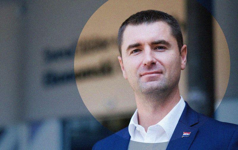 15.09.2020., Zagreb - HDZ-ov gradski zastupnik Davor Filipovic, profesor na Ekonomskom fakultetu u Zagrebu.  Photo: Tomislav Miletic/PIXSELL