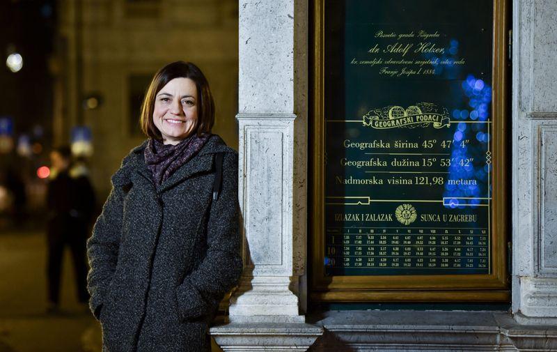 Ivana Herceg Bulić, profesorica na Geofizičkom odsjeku zagrebačkog PMF-a i voditeljica novoosnovanog Centra za klimatološka istraživanja