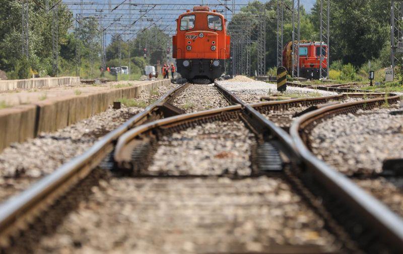 27.08.2020., Savski Marof - Zeljeznicka pruga s lokomotivom. Photo: Robert Anic/PIXSELL