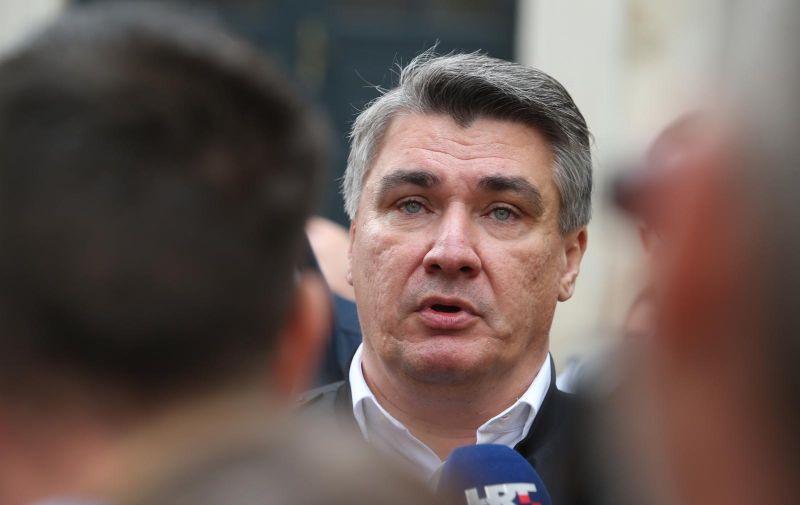 02.11.2019.,Split- Predsjednicki kandidat Zoran Milanovic danas boravi u Splitu. Photo: Ivo Cagalj/PIXSELL
