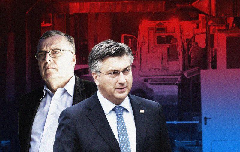 02.11.2020., Zagreb - KB Dubrava od danas postala je samo covid-bolnica. Photo: Luka Stanzl/PIXSELL