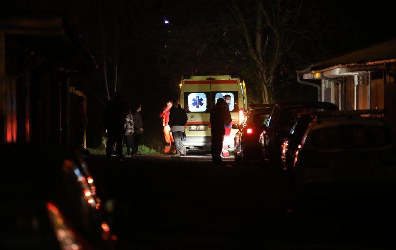 22.12.2020.,Zagreb - U naletu vlaka smrtno stradala djevojcica  Photo: Jurica Galoic/PIXSELL