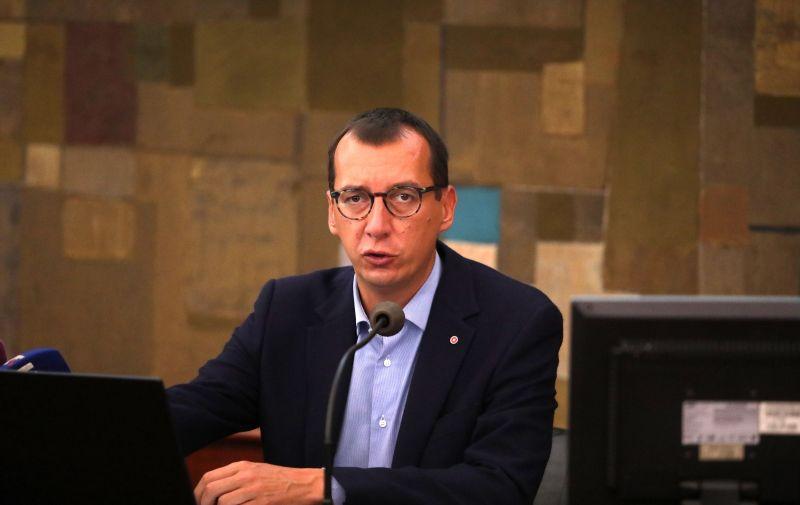 30.06.2021., Rijeka - Prvi kolegij novog gradonacelnika Marka Filipovica i procelnika.   Photo: Goran Kovacic/PIXSELL