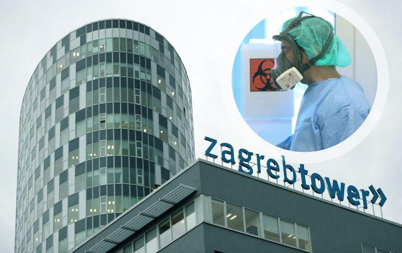 12.12.2017., Zagreb - Zgrada Ministarstva zastite okolisa u Radnickoj 80 (ZagrebTower).  Photo: Slavko Midzor/PIXSELL
