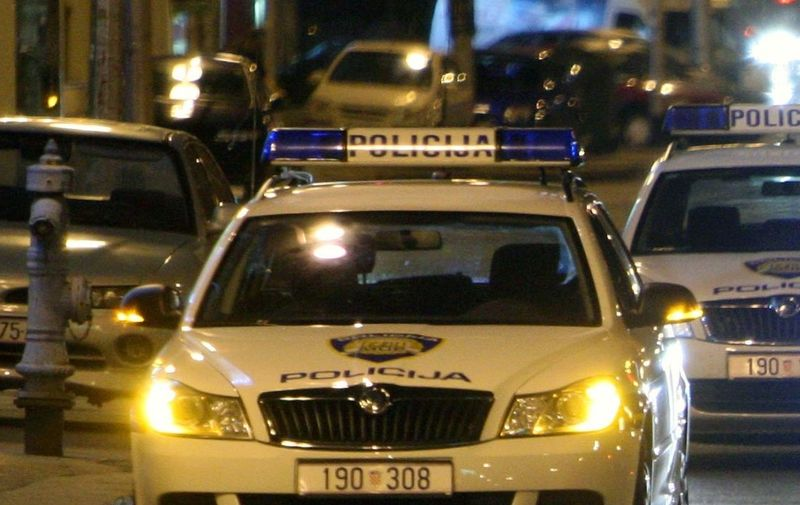 09.09.2012., Zagreb - U Savskoj ulici oko 3 sata ujutro na pjesaka je naletio taxi. Pjesak je na mjestu smrtno stradao. Photo: Grgur Zucko/PIXSELL