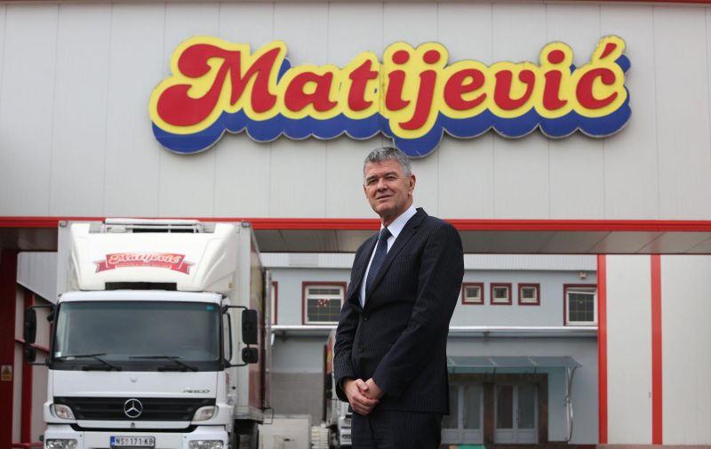 25.11.2015., Novi Sad, Srbija - Petar Matijevic, srbijanski poduzetnik, vlasnik Industrije mesa Matijevic, kupio je dvije poljoprivredne zadruge u okolici Vukovara u cijem je posjedu 1.500 hektara poljoprivrednog zemljista. Photo: Marko Mrkonjic/PIXSELL