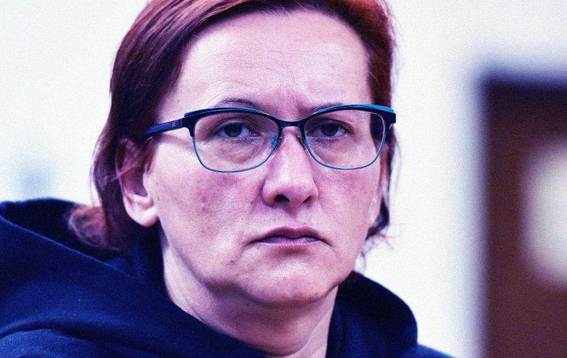 21.01.2020., Varazdin - Nastavak sudjenja Smiljani Srnec, optuzenoj za ubojstvo sestre Jasmine Dominic.  Photo: Vjeran Zganec Rogulja/PIXSELL