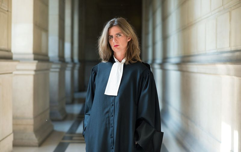 Attorney Camille Kouchner is a member of Bar of Paris since 2011 and partner of the law firm, Atticus Avocats. Specializing in Health Law, Contract Law and Liability, Literary and Artistic Property, Paris-1/09/14-FRANCE./NIVIERE_008NIV/Credit:NIVIERE/SIPA/1411121247,Image: 233965235, License: Rights-managed, Restrictions: , Model Release: no