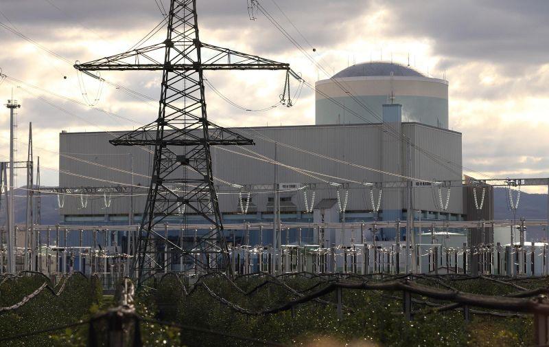 26.11.2013., Krsko -  Obilazak Nuklearne elektrane Krsko u organizaciji Drzavne uprave za zastitu i spasavanje. Photo: Davor Puklavec/PIXSELL