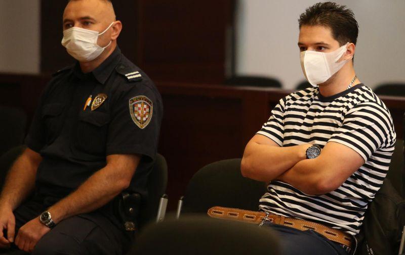 30.09.2020., Split - Na Zupanijskom sudu nastavljeno je sudjenje Filipu Zavadlavu optuzenom za trostruko ubojstvo. Photo: Ivo Cagalj/PIXSELL