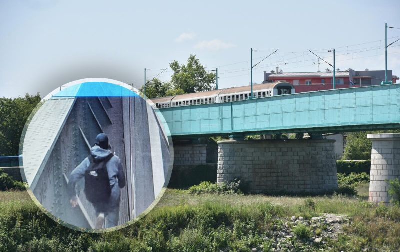 09.07.2018., Zagreb - Na zeljeznickom putnicki vlak pregazio je pjesaka. Photo: Davor Visnjic/PIXSELL