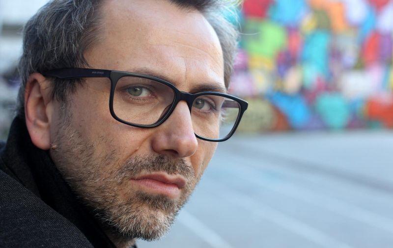 08.01.2018., Zagreb - Kazalisni redatelj Oliver Frljic. Photo: Boris Scitar/Vecernji list/PIXSELL