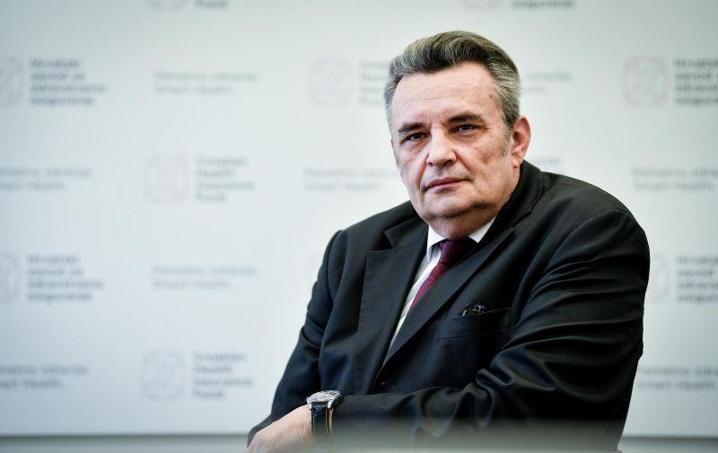 12.01.2018., Zagreb - Lucian Vukelic, ravnatelj Hrvatskog zavoda za zdravstveno osiguranje. Photo: Sandra Simunovic/PIXSELL