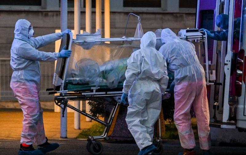 Italija je najteže pogođena europska zemlja u proljetnom valu pandemije. Iz talijanske Lombardije stižu potresne snimke i svjedočanstva liječnika/AFP