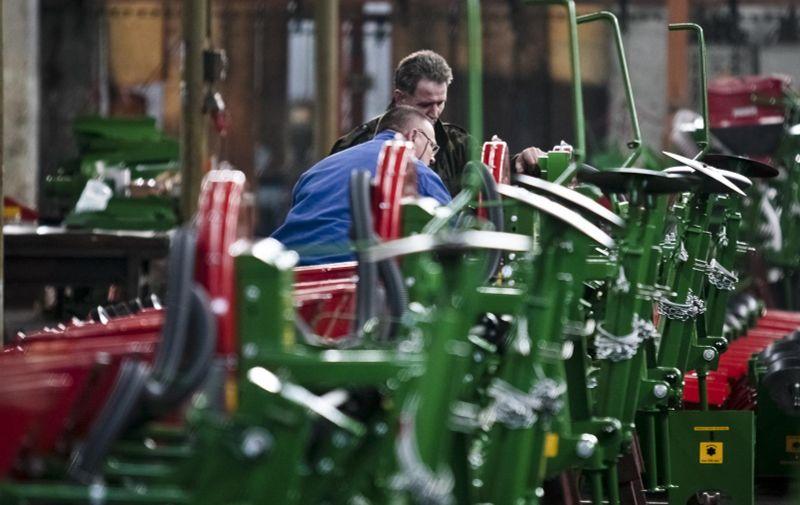 05.03.2010., Osijek - Osjecka tvornica poljoprivrednih strojeva OLT u velikim je problemima zbog krize u poljoprivredi.  Photo: Krunoslav Petric/PIXSELL