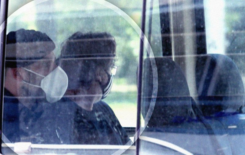 17.06.2021. Zagreb - Policija i Uskok upali u GSKG: Uhicene cetiri osobe, medju njima i voditelj. Dovodjenje osumnjicenih  Photo: Patrik Macek/PIXSELL
