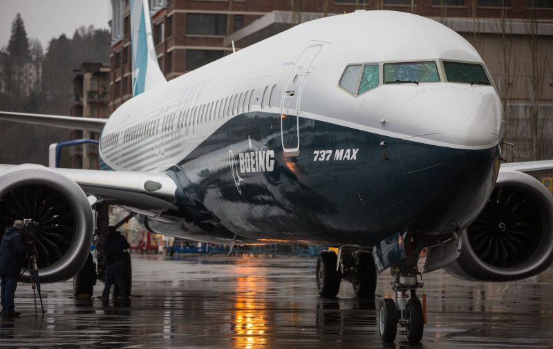 March 7, 2017 - Seattle, Washington USA: Boeing's newest commercial airplane, the 737 MAX 9, sits on the tarmac outside the manufacturer's Renton factory on Tuesday, March 7, 2017.  President Donald Trump announced an emergency order from the Federal Aviation Administration on March 13, 2019 grounding Boeing 737 Max jets in the wake of the Ethiopian Airlines crash Sunday and the Lion Air accident in October that together killed 346 people. His announcement came as the FAA has faced mounting pressure from aviation advocates and others to ban flights of the planes pending the completion of investigations into the crash Sunday that killed 157 people and the accident in Indonesia in October in which 189 people perished., Image: 419223661, License: Rights-managed, Restrictions: , Model Release: no, Credit line: Profimedia, Polaris