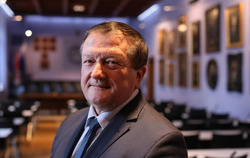 28.02.2018., Zagreb - Damir Boras, rektor Sveucilista u Zagrebu.  Photo: Boris Scitar/Vecernji list/PIXSELL