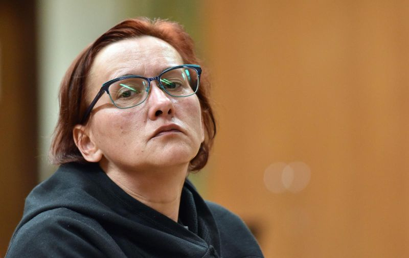 26.11.2019., Varazdin - Nastavak sudjenja Smiljani Srnec zbog ubojstva sestre. Photo: Vjeran Zganec Rogulja/PIXSELL