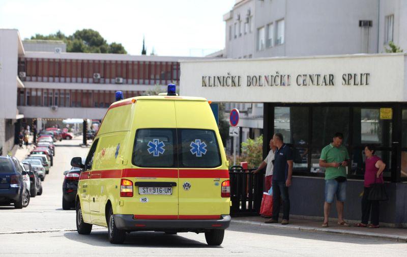 30.06.2015., Split - Klinicki bolnicki centar Firule, hitan prijem. Photo: Miranda Cikotic/PIXSELL