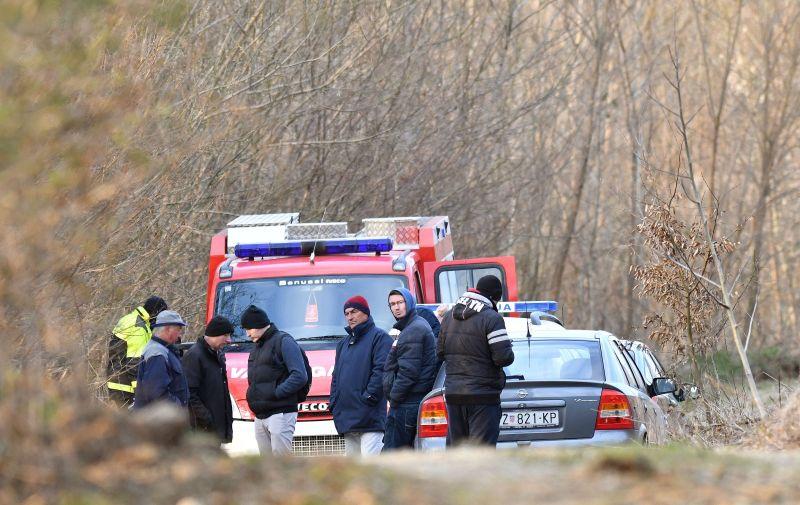 20.03.2021., Slanje- U rijeci Bednji pronadjeno tijelo nepoznate osobe. Photo: Vjeran Zganec Rogulja/PIXSELL