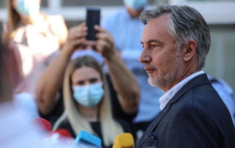 05.07.2020., Zagreb - Miroslav Skoro glasovao na parlamentarnim izborima na biralistu u OS Gracani. Photo: Robert Anic/PIXSELL