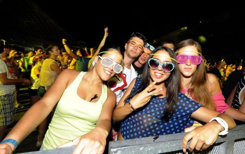 13.07.2013., Split – Drugi dan najveceg party festivala u regiji Ultra Europe. Photo: Tino Juric/PIXSELL Članak se nastavlja ispod oglasa