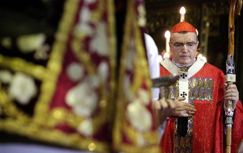 10.02.2017., Zagreb - Kardinal Josip Bozanic predvodio je euharistijsko slavlje povodom obiljezavanja Stepinceva. Photo: Zarko Basic/PIXSELL