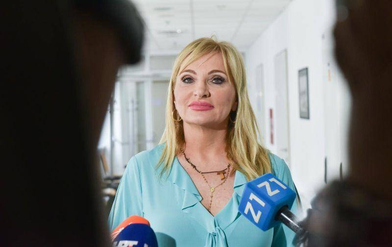 24.07.2019., Zagreb - U Klinici za psiholosku medicinu organiziran je Okrugli stol na temu nasilja. Gordana Buljan Flander Photo: Davorin Visnjic/PIXSELL