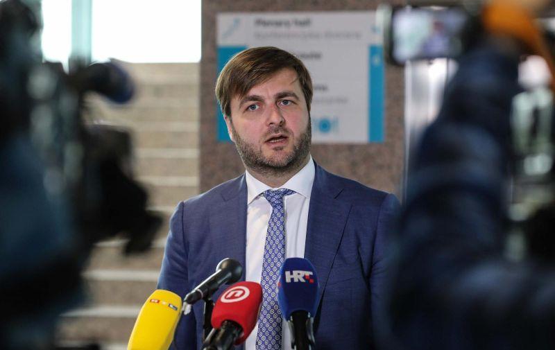 21.05.2020,Zagreb - Sjednica Vlade RH odrzana je u plenarnoj dvorani NSK. Photo: Jurica Galoic/PIXSELL