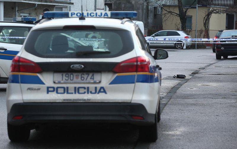 06.01.2021., Zagreb - U popodnevnim satima pucnjava u Dubravi u Juznoj ulici kod broja 28, ocevid u tjeku. Photo: Matija Habljak/PIXSELL