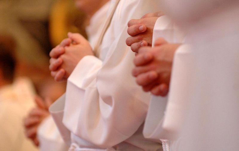 07.06.2010., Varazdin - Redjenje svecenika u varazdinskoj katedrali.  Photo: Vjeran Zganec Rogulja/PIXSELL