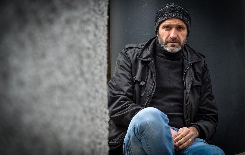 17.04.2021., Zagreb - Elvis Bosnjak, glumac i pisac.  Photo: Sasa Zinaja/NFoto/PIXSELL