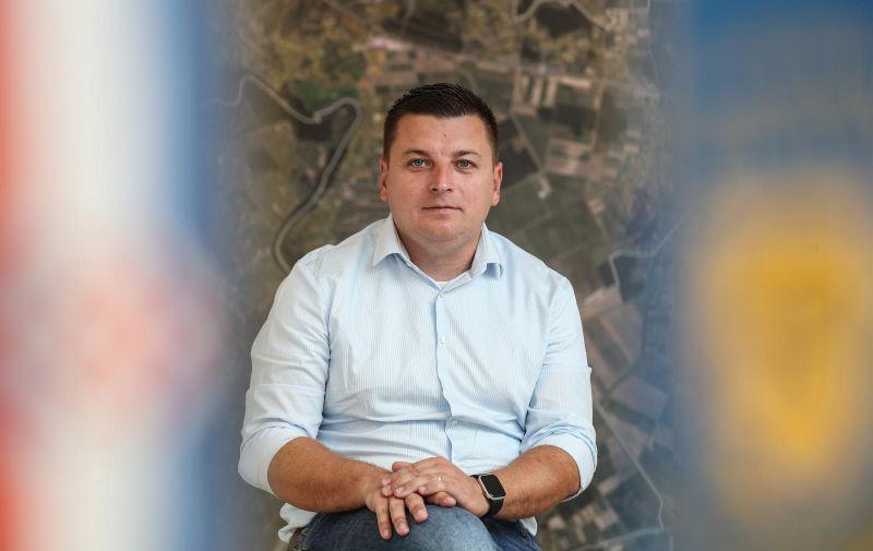 04.09.2019., Zagreb- Mato Cicak, nacelnik opcine Rugvica. Photo: Robert Anic/PIXSELL
