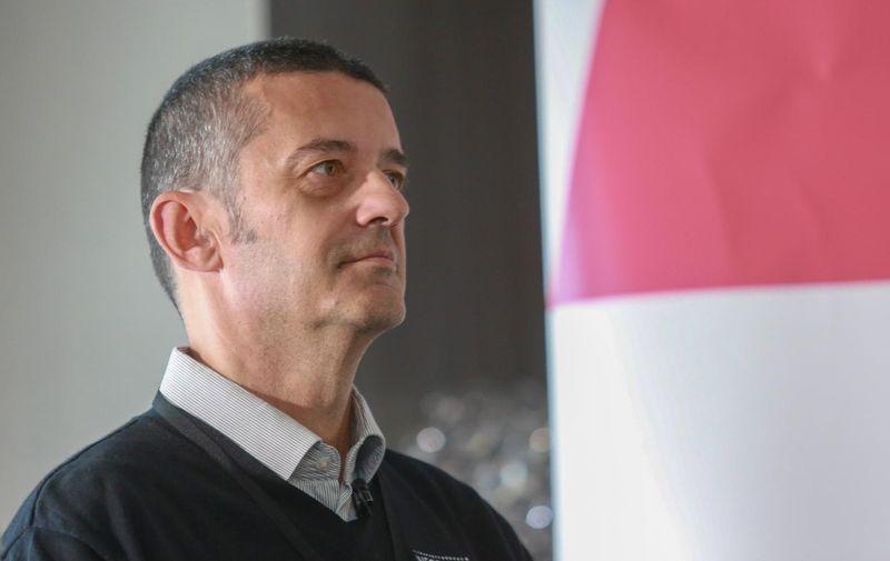 13.11.2018., Zagreb -  Drazen Orescanin, predsjednik uprave tvrtke Poslovna inteligencija. Photo: Matija Habljak/PIXSELL