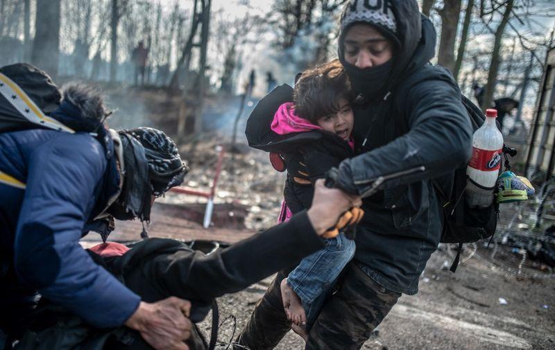 Kraj veljače: Stotine migranata zapelo je na grčko-turskoj granici, nakon što je Turska otvorila granice i propustila ih prema Europi. Kriza, koja je tinjala od velikog izbjegličkog vala 2015. godine, ponovno je eskalirala/AFP