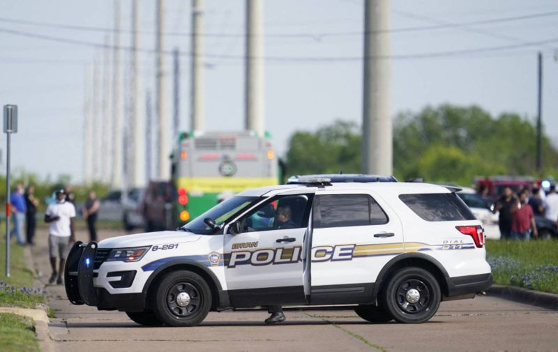 A Bryan police officer blocks road access near the scene of a mass shooting at an industrial park in Bryan in Bryan, Texas on April 8, 2021. One person was dead and several in critical condition following a shooting at a business in Texas Thursday, just hours after US President Joe Biden called gun violence […]