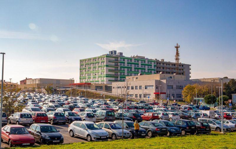 26.11.2020., Pula -  Opca bolnica Pula. Photo: Srecko Niketic/PIXSELL